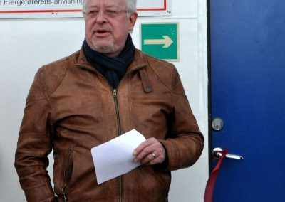 Borgmester Jan Pedersen Norddjurs holder tale