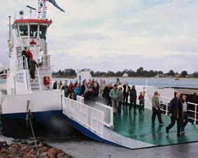 Færgeindvielse 2006